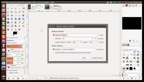 Programy Grafika Gimp Ubuntu Ceska Republika